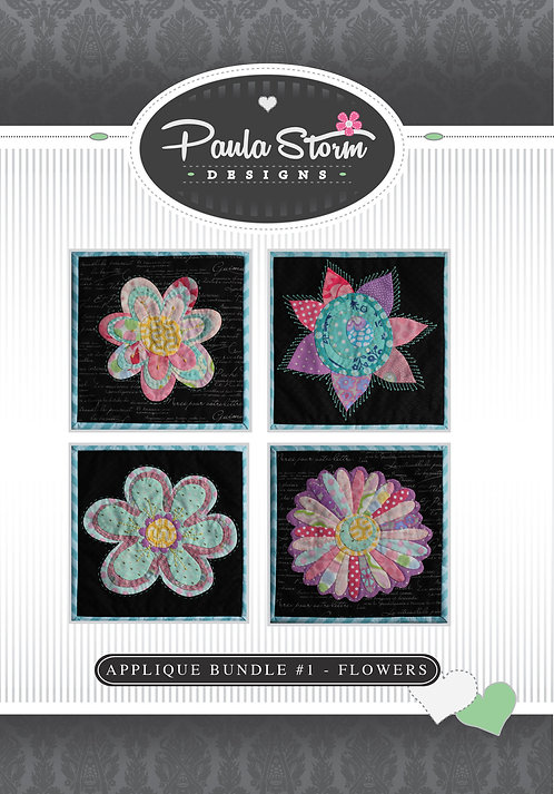 Applique Bundle #1 - Flowers