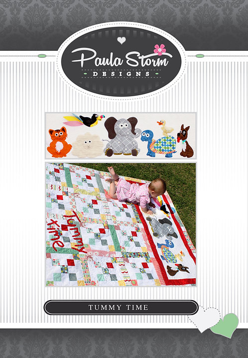 Tummy Time - Sensory Quilt