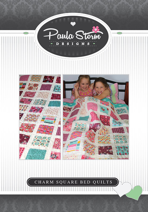 Charm Square Bed Quilt