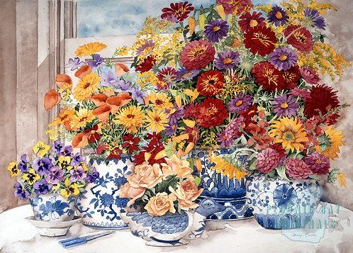 Y22 Blue & White Vases