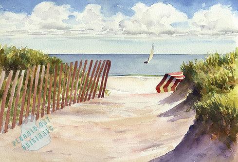 I23 Beach Invitation