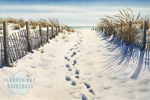 E19  Snow Prints