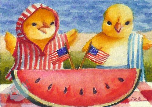 Z22 4th of July Watermelon