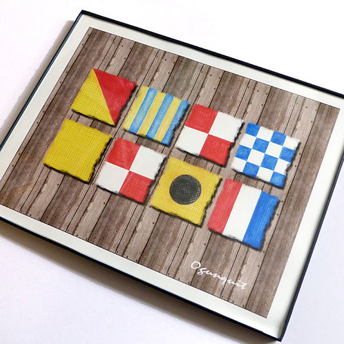 Nautical Flag Prints