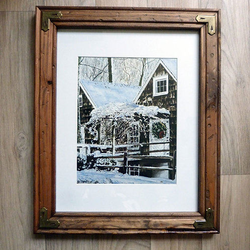 """January Mill"", framed 11x14"""