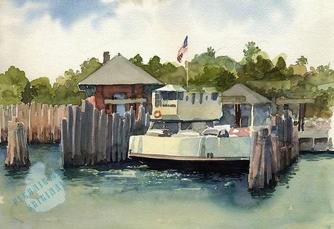 I42 Shelter Island North Ferry