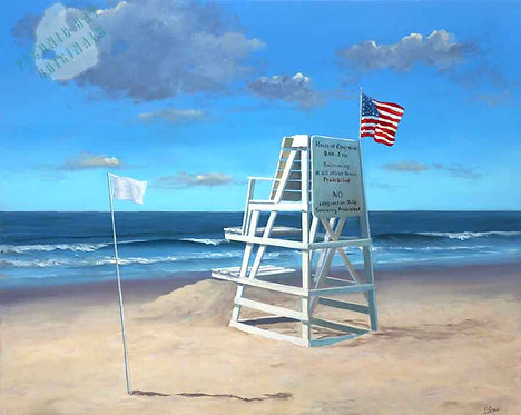 S126 Lifeguard Stand West