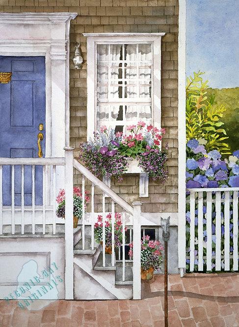 Y09 Nantucket Doorway