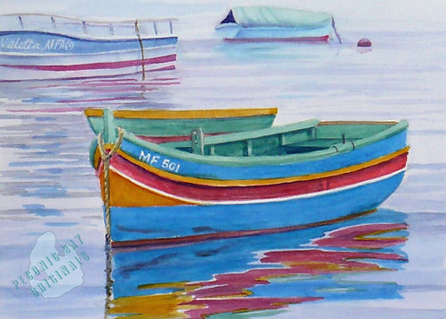 Z34 Colorful Fishing Boats