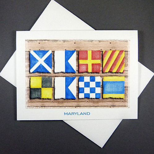 Nautical Flag Cards