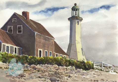 I13 Scituate Lighthouse