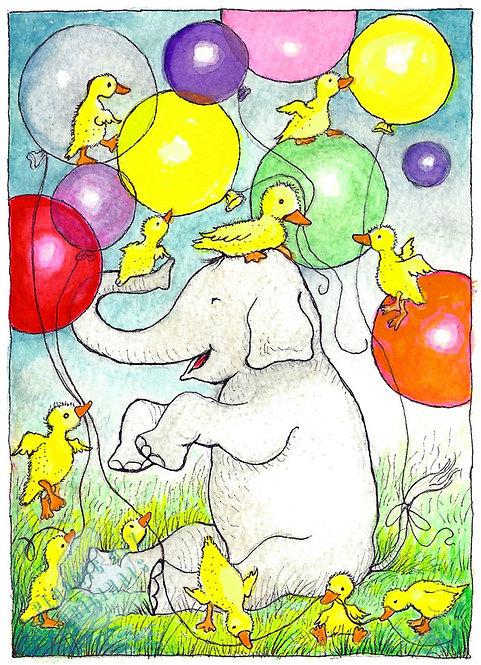 A10 Happy Ducky Birthday