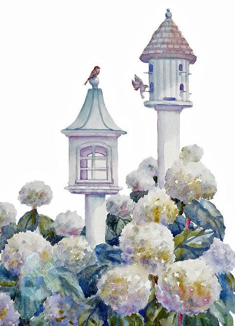 Z46 Garden Bird House