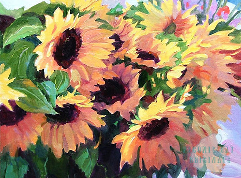 O48 Sunflower Bunches