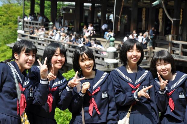японские дети