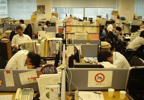 японцы трудоголики