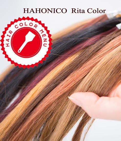 hair color menu rita color
