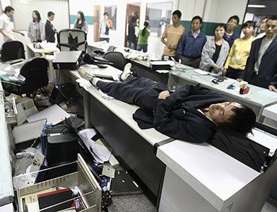 смерть на рабочем месте в Японии