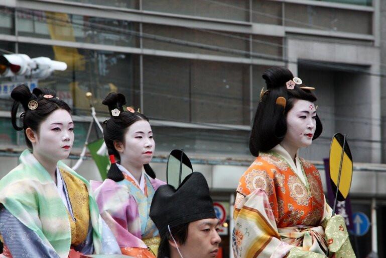 прически японок в 6-8 веке под влиянием Кореи и Китая