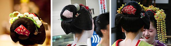 история японской прически