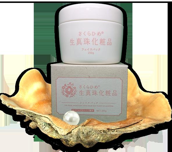 японская косметика с экстрактом жемчуга Sakura Him