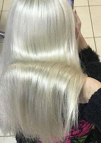 Keratexment идеален для блондированныхволос