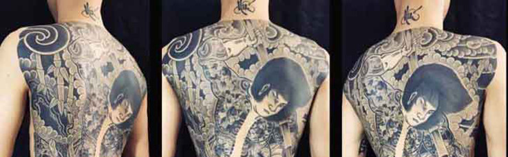 татуировка японской преступной группировки