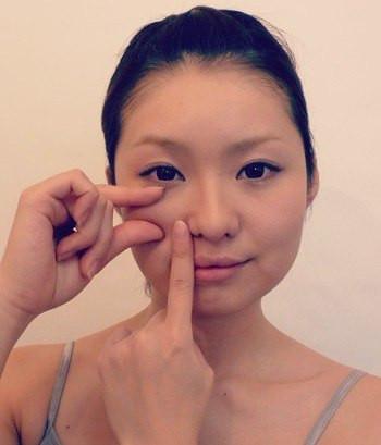 подтягивающий щеки японский массаж лица