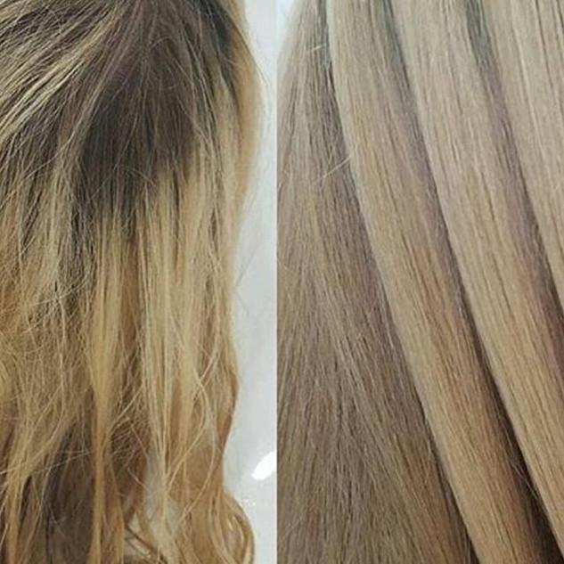 японская реконструкция - шанс для волос