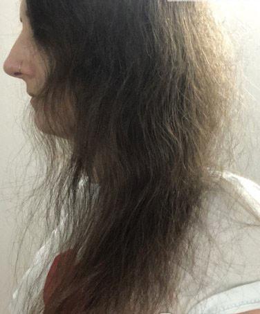 пересушенные волосы