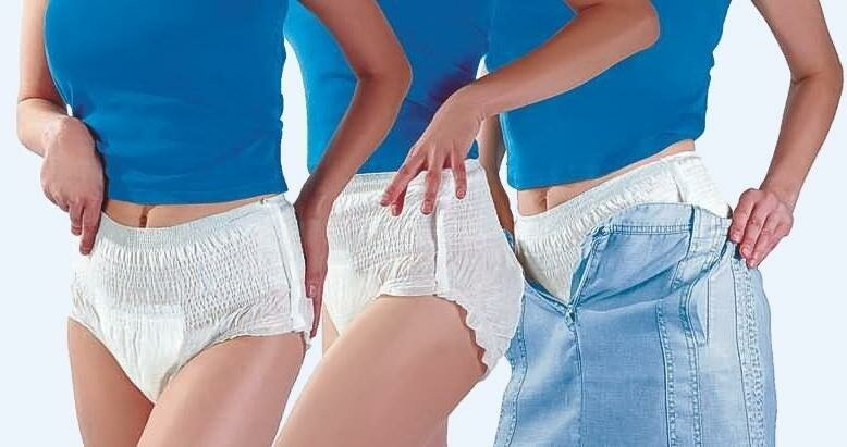 японки носят подгузники