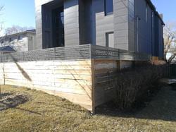 Horizontal Aluminum Fence