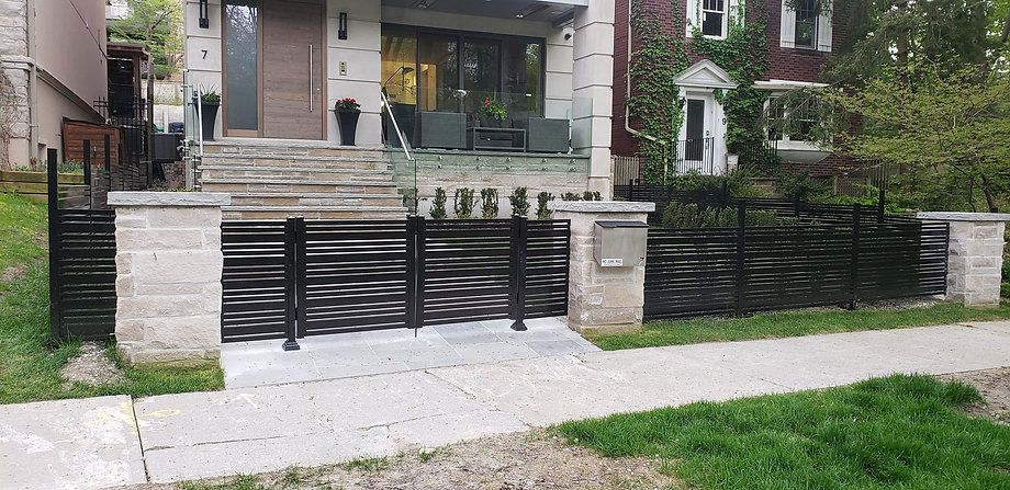 Aluminum Railing and Fence