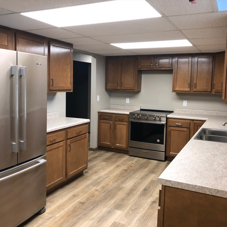 Lower Level Apartment (Before & After)