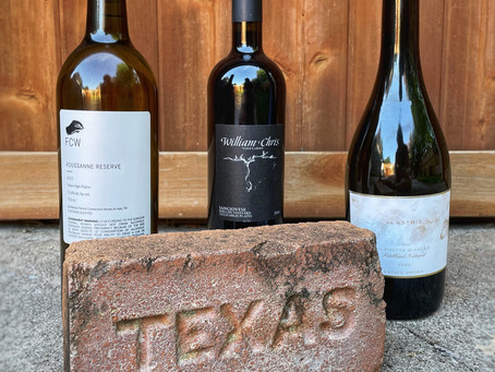 Texas Wine, not our first rodeo