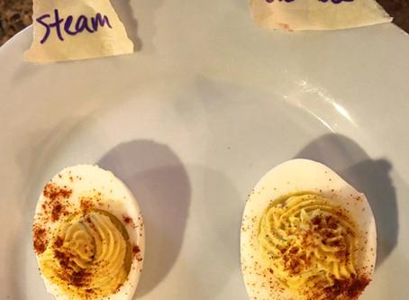Hard-boiled Eggs: Best Not Boiled