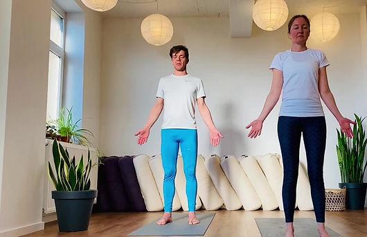 22 min staande yoga