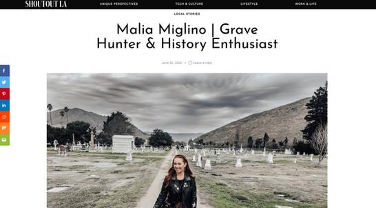 Shoutout LA - Grave Hunter & History Enthusiast