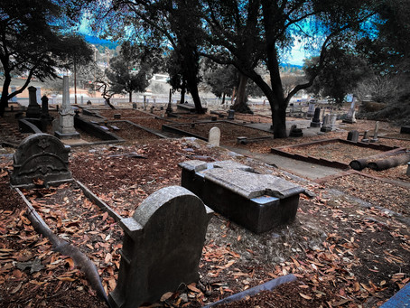 Grave Hunting at Santa Cruz's Evergreen Cemetery