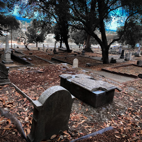 Grave Hunting at Santa Cruz's Evergreen Cemetery