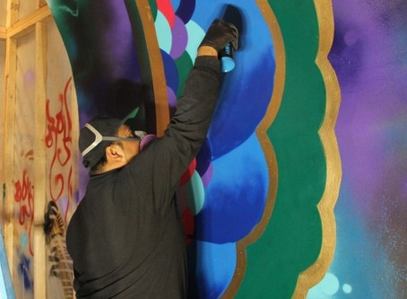 Urban Art Splashes with a Museum