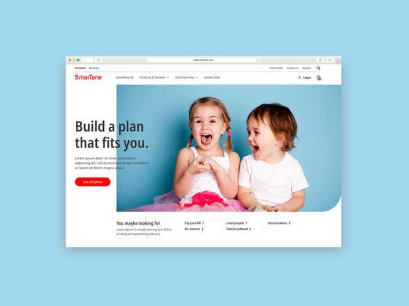 Smartone Website Revamp