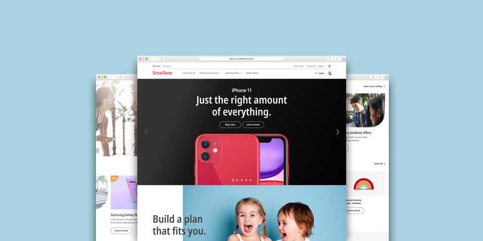 Smartone Sales Site Revamp