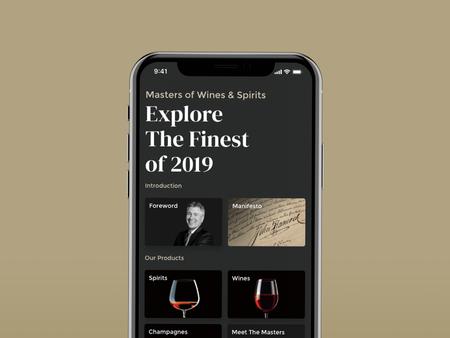 DFS Master of Wines & Spirits POC