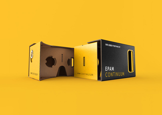 VR google cardbox