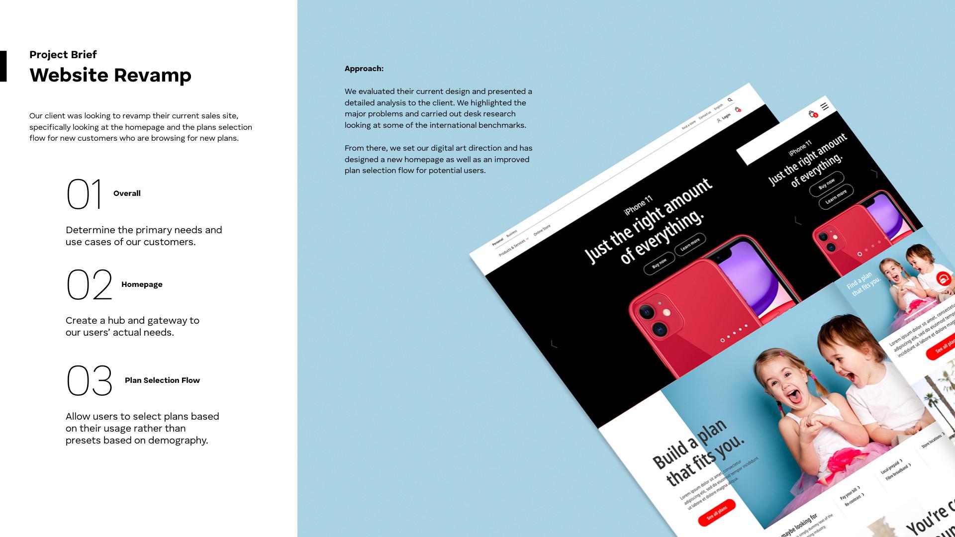 Smartone Sales Site Revamp_Project Brief
