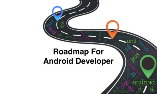 Career route of Android developers