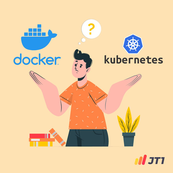 What is the difference between Kubernetes and Docker