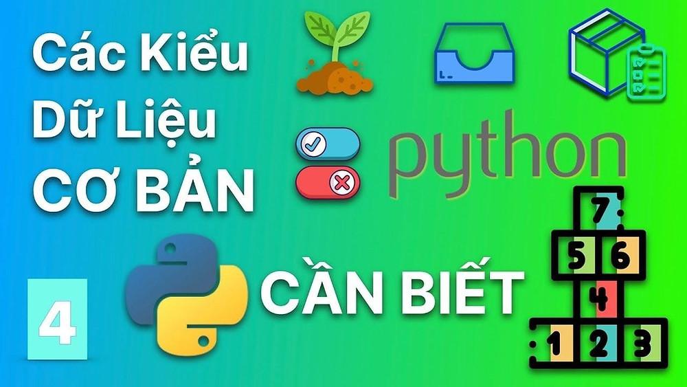 Các kiểu dữ liệu trong Python