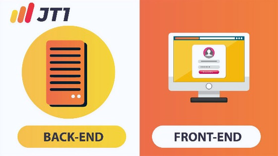 About Front-End and Back-End development